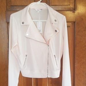 Baby pink stylish jacket